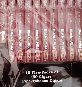 Black & Mild Wine 50 Cigars