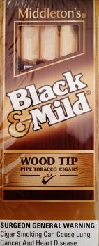 Black & Mild Wood Tip