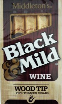 Black & Mild Wine Wood Tip