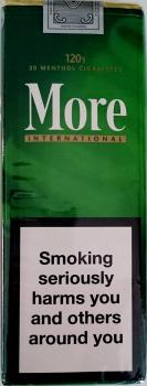 More Menthol - Auf Anfrage -