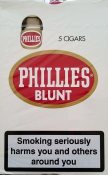 Phillies Blunt Natural 5 Cigars