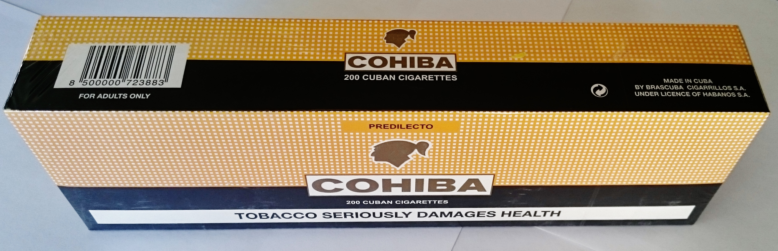 Сигареты cohiba predilecto купить электронные сигареты и аксессуары к ним оптом