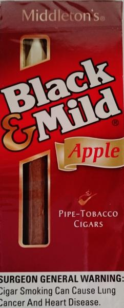 Black & Mild Apple 5 cigars