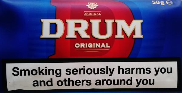 Drum Original Blue Rolling Tobacco 50 g