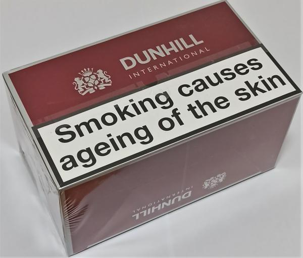 Dunhill International Red Cigarettes