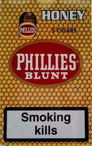 Phillies Blunt Honey 5 Cigars