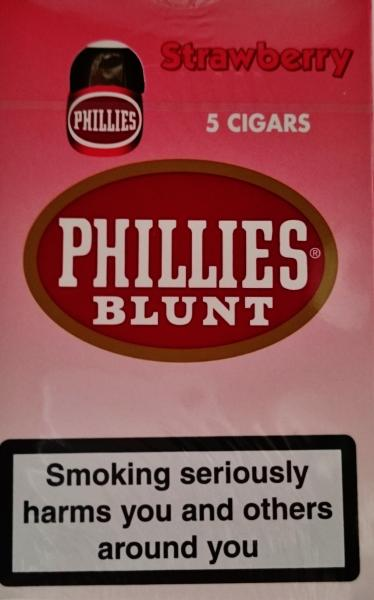 Phillies Blunt Strawberry 5 Cigars